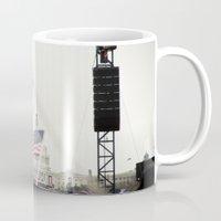 washington dc Mugs featuring 2013 Inauguration: Washington, DC. by vagabond visuals