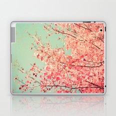 Fall - Autumn - Hot Pink - Colorful - Tree - Textured Laptop & iPad Skin
