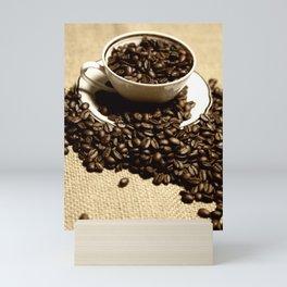 coffee cup Mini Art Print