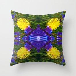 Dandy Four pattern Throw Pillow