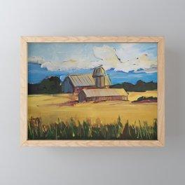 Seasons End Framed Mini Art Print