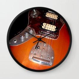 My yellow Orange Classic Electric Guitar Wall Clock