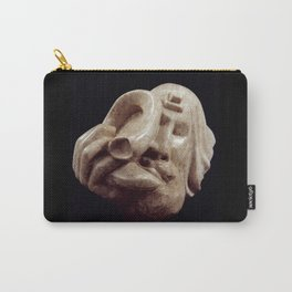 Blowing the Shofar by Shimon Drory Carry-All Pouch