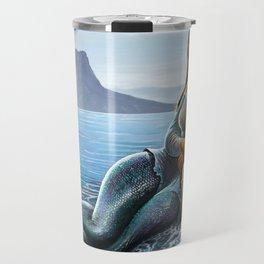 Monalisa Mermaid Travel Mug
