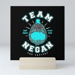 Team Negan Blue Mini Art Print
