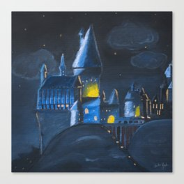 School of Witchcraft and Wizardy Canvas Print