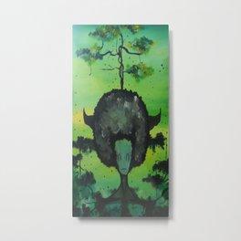 Gaia's Meliae Metal Print