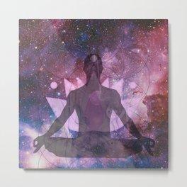 Spiritual Universe Metal Print