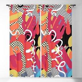 Color blobs 003 Blackout Curtain