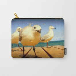Seagulls - number 4 from set of 4 Carry-All Pouch