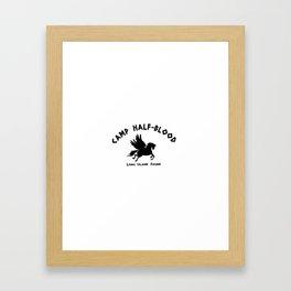 Camp Half-Blood Framed Art Print