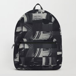 Navy Swashes Backpack