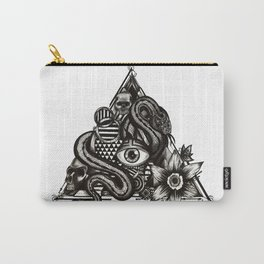 Triangle eye snake Carry-All Pouch