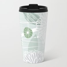 Abstract Floral by Friztin Travel Mug