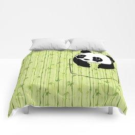 Pocket Bamboo Panda Comforters
