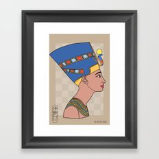 Queen Nefertiti Framed Art Print