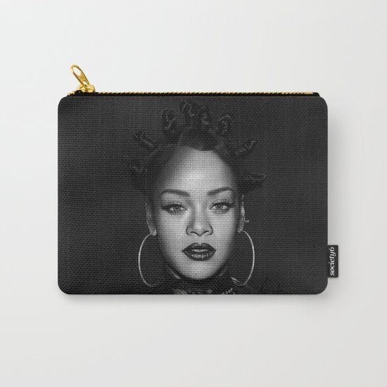 David's Portrait #1 Rihanna Carry-All Pouch