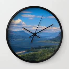 Columbia River Gorge Wall Clock