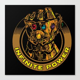 Infinity Gauntlet Canvas Print