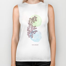 23 // Abstract 9 March 2017 | Abstract Shapes Art Colour Biker Tank