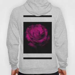 Beautiful Magenta Rose Hoody