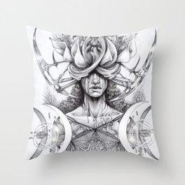 Inner magic Throw Pillow