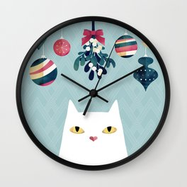 Mistletoe? Wall Clock