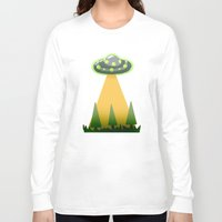i want to believe Long Sleeve T-shirts featuring I Want To Believe by molmcintosh