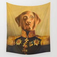 general Wall Tapestries featuring General Bumblebee Bruce by Best Friends Furever
