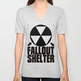 Fallout_Shelter Unisex V-Neck