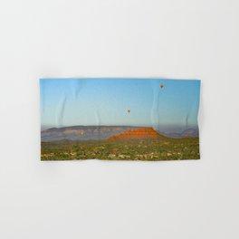 # Hot Air Balloons Over Sedona   Hand & Bath Towel