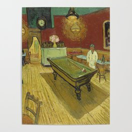 The Night Cafe by Vincent van Gogh Poster
