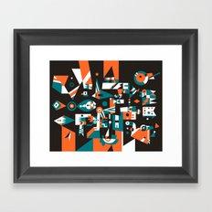 Schema 1 Framed Art Print
