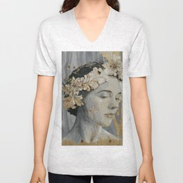 Portrait Unisex V-Neck