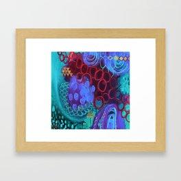 Everything Inbetween Framed Art Print