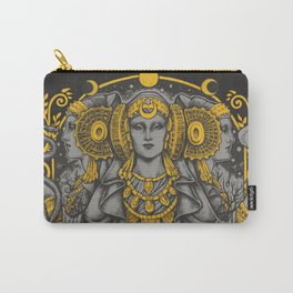 IBERIAN HECATE gray Carry-All Pouch