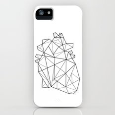 Origami Heart Slim Case iPhone (5, 5s)