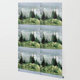 Pine Trees 2 Wallpaper