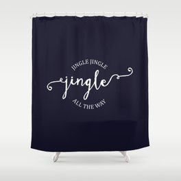 Jingle Shower Curtain