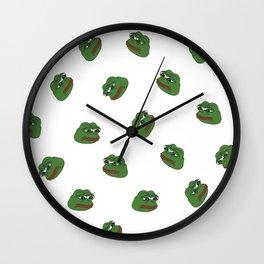Pepe Wall Clock