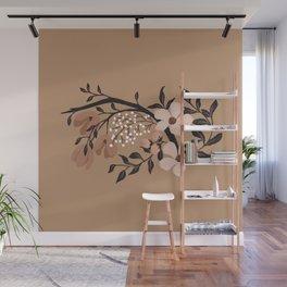 Nude Flowers Wall Mural
