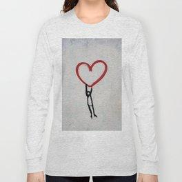 heart wall Long Sleeve T-shirt