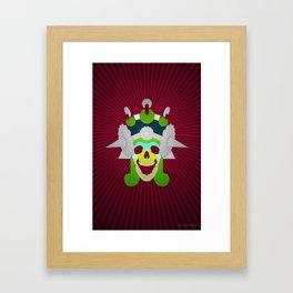 Day of the Dead- Mictecacihuatl Framed Art Print