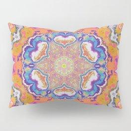 melting into meaning mandala Pillow Sham
