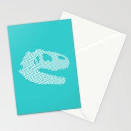 Tyrannosaurus Rex Skull Stationery Cards