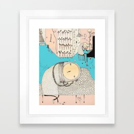 My daily life. Framed Art Print