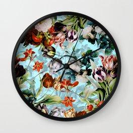 SUMMER BOTANICAL VI Wall Clock