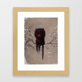 Bellamy and the Birds Framed Art Print