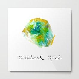 october opal Metal Print