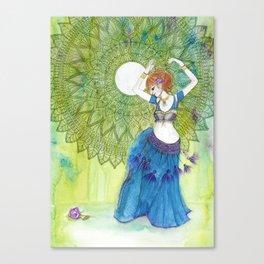 Belly Dancer Goddess Canvas Print